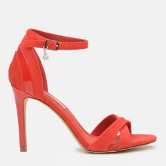 Босоножки XTI Microfiber Combined Ladies Shoes 32045-5 39 24.5 см Красные (8434739342063)