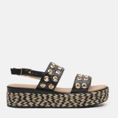 Босоножки XTI Pu Ladies Sandals 49066-1 40 Черные (8434739446532)