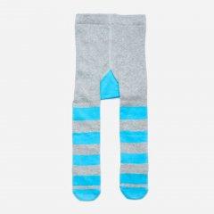 Колготки Модний карапуз 101-00908-2 68-74 см Сірий з блакитним/Єнот (4824865190821)