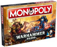 Настольная игра Winning Moves Монополия Warhammer 40,000 (35484) (5036905035484)