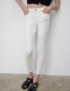 Джинси Zara Ж1060607 (9632/044/250) колір білий XL