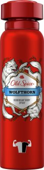 Аэрозольный дезодорант Old Spice Wolfthorn 150 мл (4015600306595)