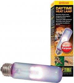 Лампа накаливания с неодимовой колбой Exo Terra «Daytime Heat Lamp», имитирующая дневной свет, для обогрева 25 Вт, E27 (015561221023)
