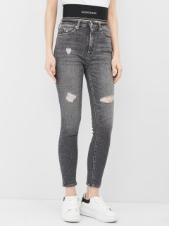 Джинси Calvin Klein Jeans High Rise Skinny Ankle J20J215890-1BZ 25 Denim Grey (8719853762905)