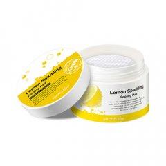 Пілінг-диски з екстрактом лимона і саліцилової кислотою Secret Key Lemon Sparkling Peeling Pad (8809305999826)