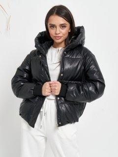 Куртка из искуственной кожи Remix 2022 44 Черная (Rem2200000015464)