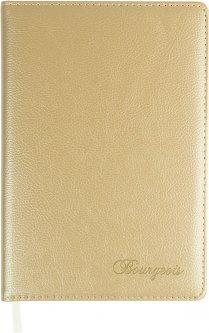 Ежедневник недатированный Bourgeois А5 160 листов Белый (6923749726274)