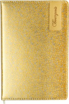 Ежедневник недатированный Bourgeois А5 160 листов Белый (6923749726397)