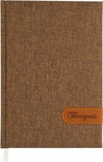 Ежедневник недатированный Bourgeois А5 160 листов Коричневый (6923749720357)