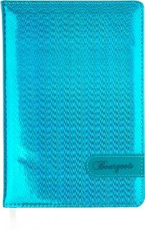 Ежедневник недатированный Bourgeois А5 160 листов Голубой (6923749720401)