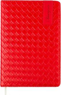 Ежедневник недатированный Bourgeois А5 160 листов Красный (6923749720791)
