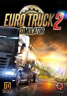 Игра Euro Truck Simulator 2 для ПК (PC-KEY, русские субтитры, электронный ключ в конверте)