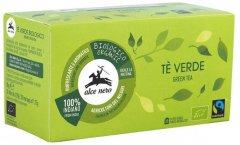 Чай зеленый органический Alce Nero Fairtrade Индия 35 г х 20 пакетиков (8009004901155)