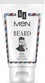 Гель для умывания AA Cosmetics Men Beard Очищающий для лица и бороды 150 мл (5900116054506)