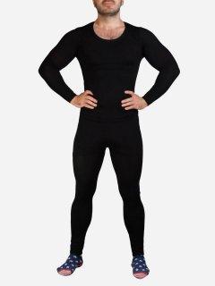 Комплект мужского термобелья Supretto 5657-0001 44-50 Черный (2000100047958)