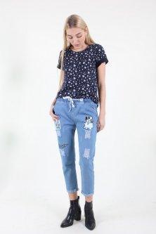 Штани Wear classic 396 джинс (Синій S)