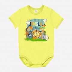 Боди-футболка Smil Ребятам о зверятах 121063 86 см Желтая (4824039225076)