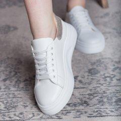 Кеди жіночі Fashion Alcuin 2745 38 розмір 24,5 см Білий