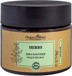 Скраб для волос и кожи головы Stara Mydlarnia Organic Hair с натуральными растительными экстрактами 200 мл (5901638424488)