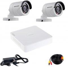 Комплект видеонаблюдения Hikvision Turbo HD-2W KIT