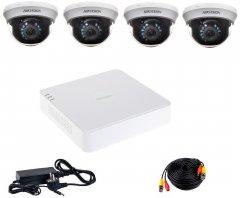 Комплект видеонаблюдения Hikvision Turbo HD-4D KIT