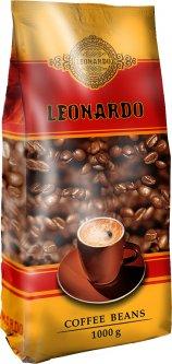 Кофе в зернах Leonardo 1 кг (4820194530338)