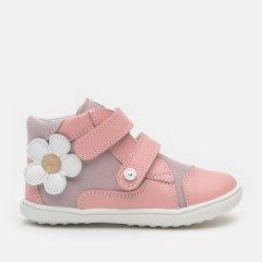 Ботинки демисезонные кожаные Bartek W-11703-002 22 (14.4 см) Розовые (5903607587392)
