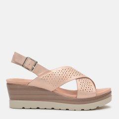 Босоножки XTI Metallic Ladies Sandals 48862-2463 41 25.5 см Светло-розовые (8434739425957)
