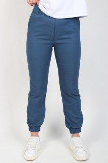 Брюки джоггеры женские LITTLE WOMEN №787 бенгалин манжет резинка с карманами джинс L
