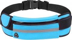 Спортивная сумка для бега на пояс Xiamen RanBag 20х10х2 см Синий (PH050305)