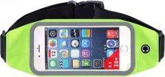 Спортивная сумка для бега на пояс Xiamen RanBag Водонепроницаемая 23.5 х 8.5 х 2 см Зеленый (PH050317)