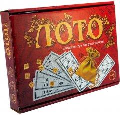 Настольная игра Strateg Лото с деревянными фишками (30656)