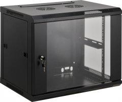 Шкаф настенный серверный Kingda KD-007-6406 6U (KD-007-6406)