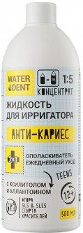 Жидкость для ирригатора + Ополаскиватель ежедневный уход Waterdent Анти-кариес Teens 500 мл (2021012512331)