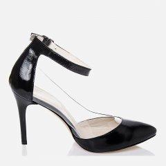 Туфли La Rose 2232лак 41 (26.3 см) Черные