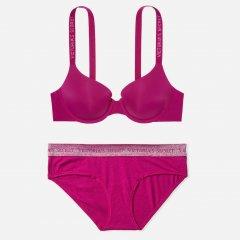 Комплект Victoria's Secret 539396225 32A/XS Бордовый (1159753052)