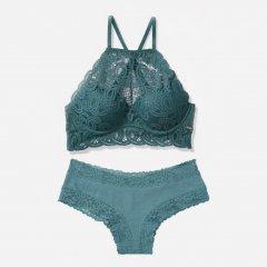 Комплект Victoria's Secret 783990307 XS Синий (1159753053)
