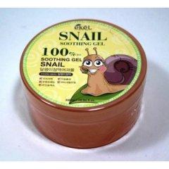 Зволожуючий гель для обличчя і тіла Ekel Snail Soothing Gel з равликом 300 мл