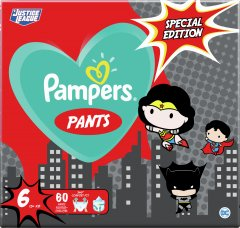 Подгузники-трусики Pampers Pants Special Edition Размер 6 (15+ кг) 60 шт (8001841968339)