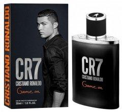 Туалетная вода для мужчин Cristiano Ronaldo CR7 Game On 30 мл (5060524510886)