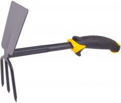 Тяпка Mastertool Нептун с пластиковой ручкой и TPR покрытием 280x190x70 мм (14-6172)