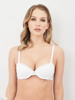 Бюстгальтер Calvin Klein Underwear QF6201E-100 36C White (8719853940761)