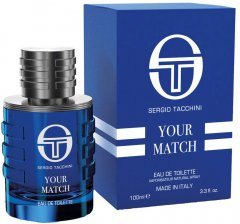 Туалетная вода для мужчин Sergio Tacchini Your Match 100 мл (810876032353)