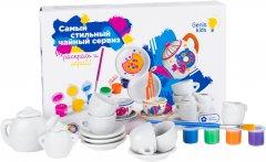 Набор для детского творчества Genio Kids Самый стильный чайный сервиз (AKR03) (4814723008061)