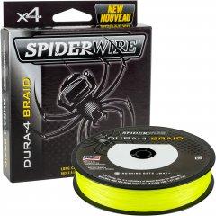 Шнур Spider Wire Dura 4 ESD4Y-DURA4 150 м 0.17 мм 15 кг Yellow (1450407)