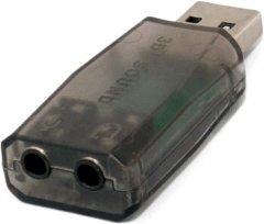 Звуковая карта ExtraDigital USB Sound card 3D (KBU1800)