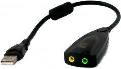 Звуковая карта ExtraDigital USB Sound card 3D 0.2 м (KBU1799)