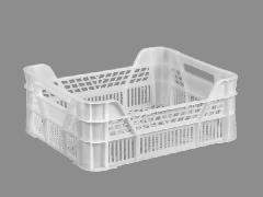Ящик пластиковый универсальный Полимерцентр 400х300х155/110 мм Белый (ST4315-3.1-WHITE)