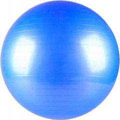 Фитбол Supretto мяч для фитнеса (d=65 см) с насосом Голубой (5705-0001)