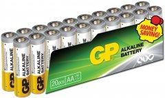 Батарейки GP SUPER ALKALINE 1.5 В 15AEPL-2VS20, LR6, AA 20 шт (4891199147470)